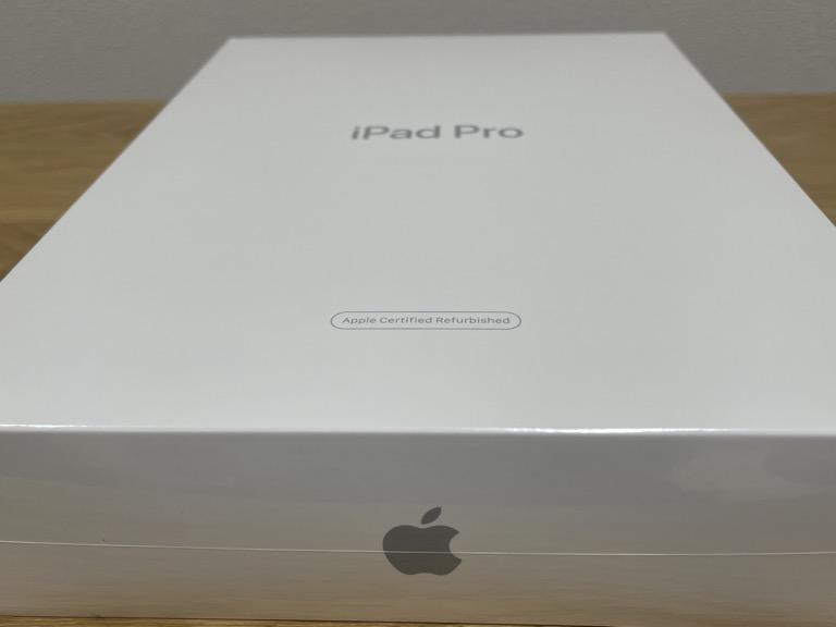 iPad Pro 11(2018)の整備済製品の外観の画像(正面)